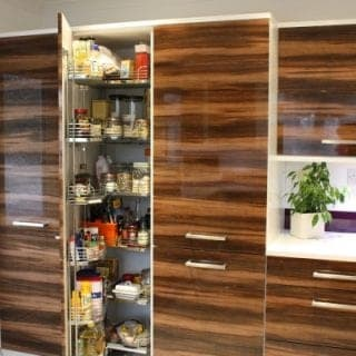 Wood Effect Kitchen Poole