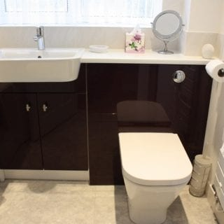 Black Gloss Bathroom Poole
