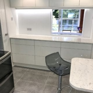 White Gloss Kitchen Poole