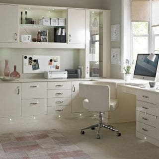 White Home Office Furniture Poole