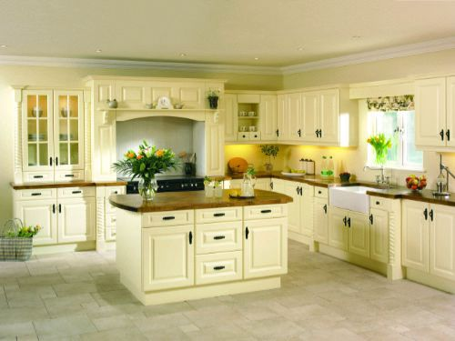 Hand crafted kitchen